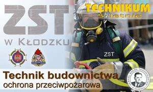 Nasza oferta edukacyjna - technik budownictwa klasa strażacka