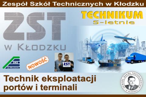 Nasza oferta edukacyjna - technik eksploatacji portów i terminali