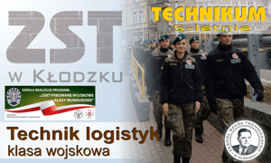 Nasza oferta edukacyjna - technik logistyk mundurowy