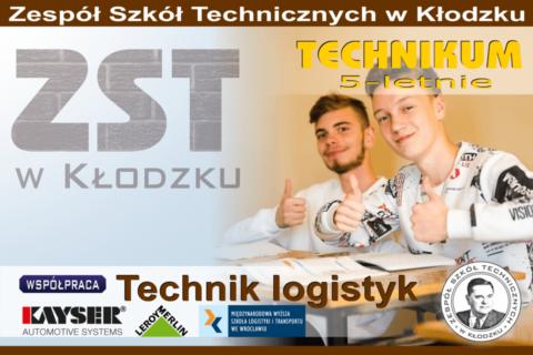 Nasza oferta edukacyjna - technik logistyk