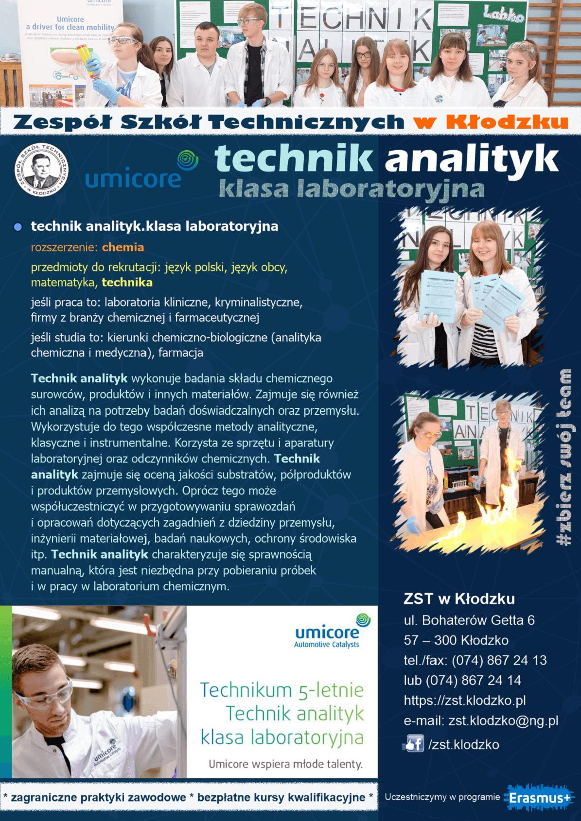 ZST w Kłodzku oferta edukacyjna 2021/2022